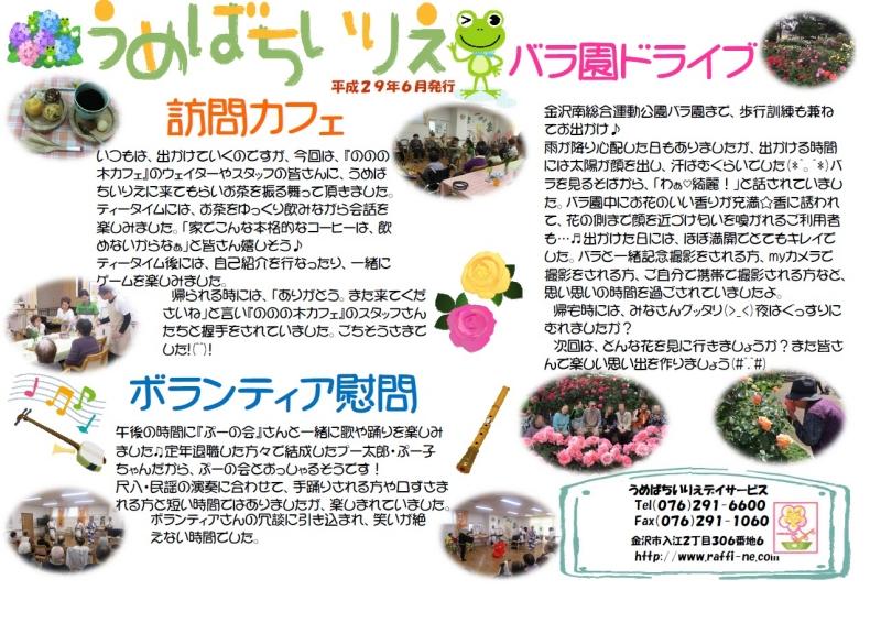うめばち新聞2017年06